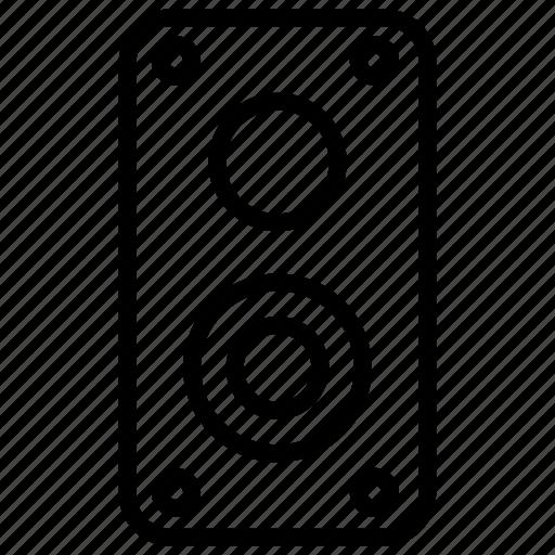 Audio, loudspeaker, speaker icon - Download on Iconfinder