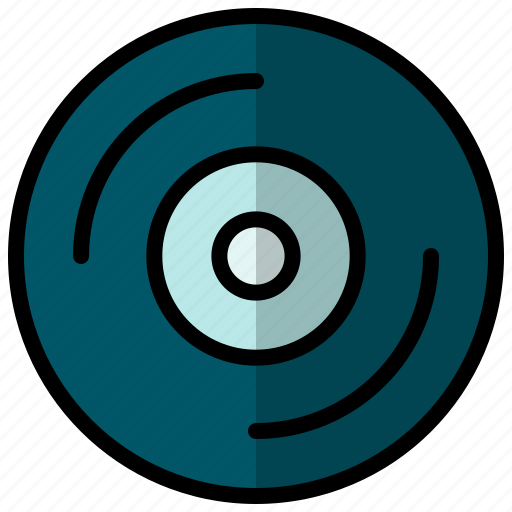 Record, turntable, vinyl icon - Download on Iconfinder