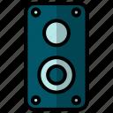 audio, loudspeaker, speaker