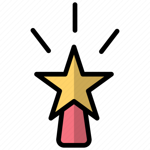 celebration, decoration, new, new year, star, year icon