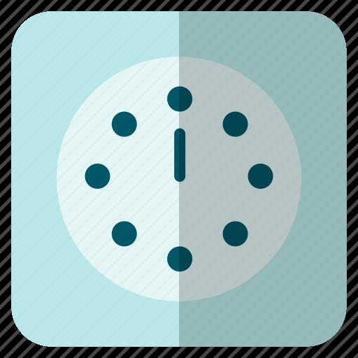 clock, midnight, new, noon, year icon