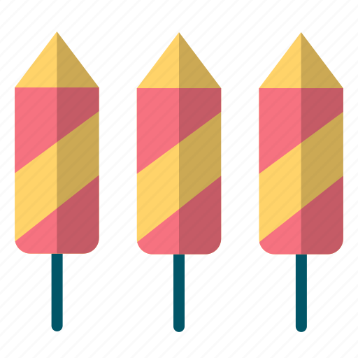 Celebration, crackers, fireworks, new, rocket, year icon - Download on Iconfinder