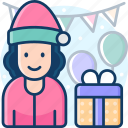 surprise, gift, giftbox, giveaway, present icon