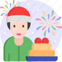 man, gift, giftbox, giveaway, present