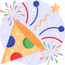 celebration, festival, firework, confetti, party