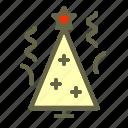 christmas, fir, holiday, newyear, spruce, star, tree
