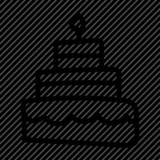 birthday, cake, celebration, christmas, decoration, party, xmas icon