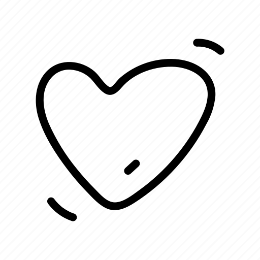 empty, heart, like, love, romance, romantic, valentine icon