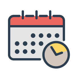 clock, manage, resolutions, schedule, time, watch, work icon