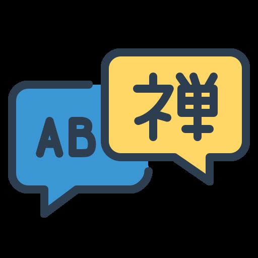 communicate, courses, language, learn, message bubble, resolutions, speak icon