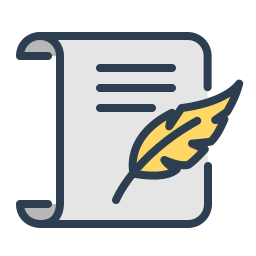 article, blog, blogging, compose, resolutions, sign, write icon
