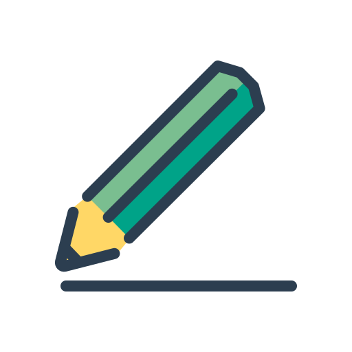 compose, draw, line, pencil, resolutions, scketch, underline icon