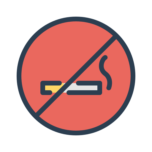 cigarette, forbibben, quit smoking, resolutions, stop smoking icon