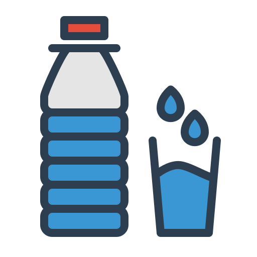 Aqua, bottle, drink, drop, glass, resolutions, water icon ...