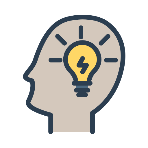 fresh idea, head, ideas, improve, light bulb, mind, resolutions icon