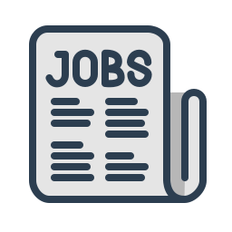 craiglist, find job, human resourcies, jobs, resolutions, vacancy icon