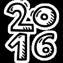 celebration, new year, party icon