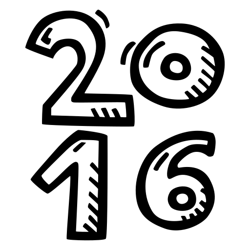 celebration, new year, party icon