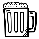 alcohol, beer, beverage, celebration, drink, party icon