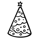 celebration, christmas, hollidays, party, tree icon
