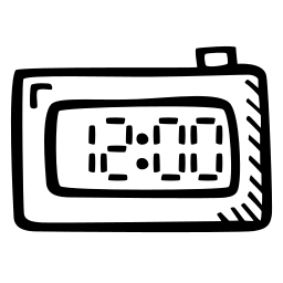 clock, electronic, random, stopwatch, time, watch icon