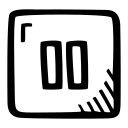 media, multimedia, music, pause, pause button, player icon