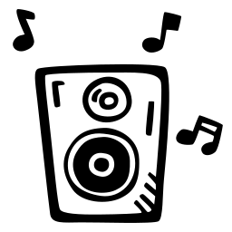 loud, music, party, sound, speaker icon