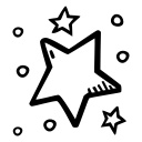 celebration, new year, party, star, stars icon