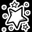 celebration, new year, party, star, stars icon