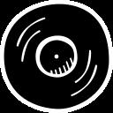 audio, music, musical, record, sound, vinyl icon