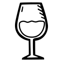 alcohol, beverage, celebration, drink, party, wine icon