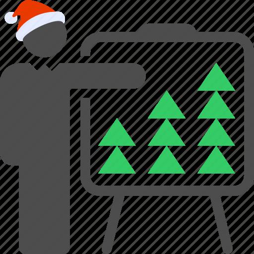 new year, ny2018, sales, seo, tarifs, trading icon