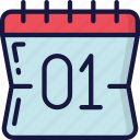 calendar, date, december, holidays, new years icon