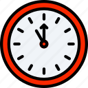 clock, countdown, december, eve, holidays, new years icon