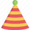 celebration, december, hat, holidays, new years, party icon