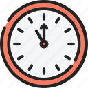 clock, countdown, date, december, holidays, new years icon