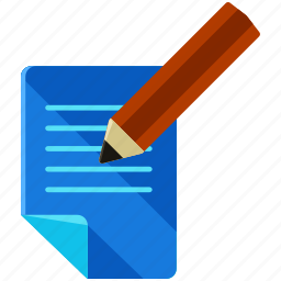 article, document, news, paper, pencil, write icon