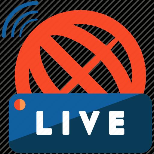 global, international, live, news, reporting icon