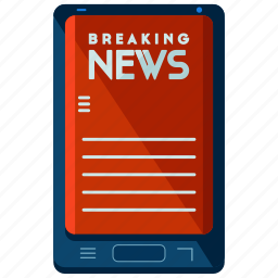article, mobile, news, online, report, tablet icon