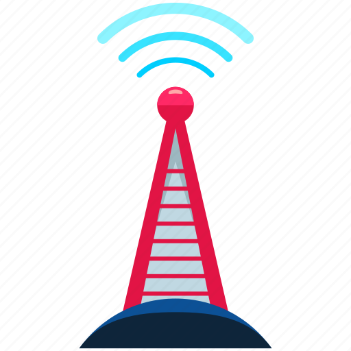 news, reporting, satellite, tower, wireless icon