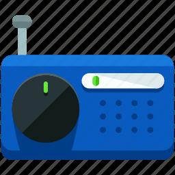 audio, music, news, radio, sound icon