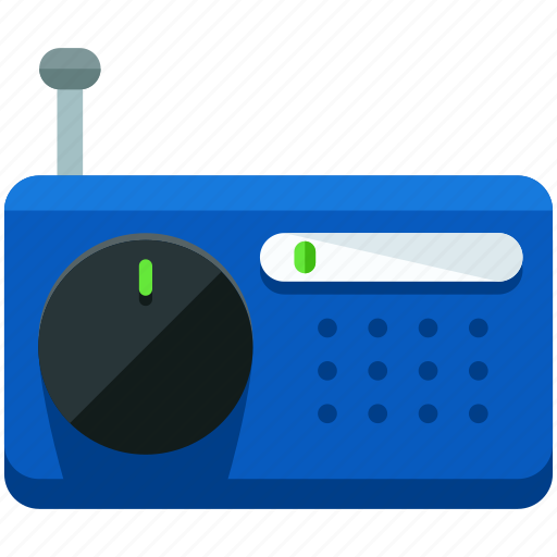 audio, music, news, radio, sound icon