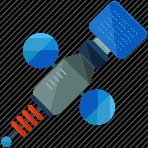 communication, news, report, satellite, technology icon