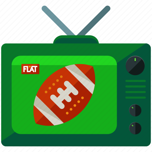 football, news, report, sports, television icon