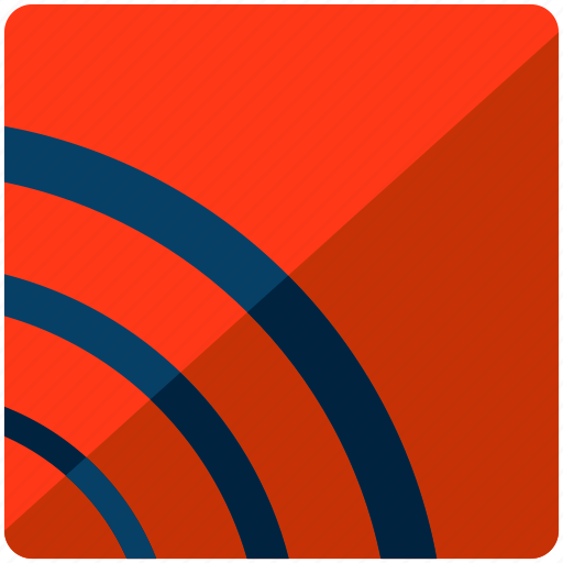 news, online, reporting, signal, wireless icon