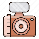 camera, device, news, photography, videocam icon