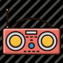 device, news, radio, signal
