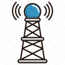 internet, news, signal, system icon