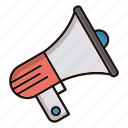 advertise, news, promotion, speaker icon