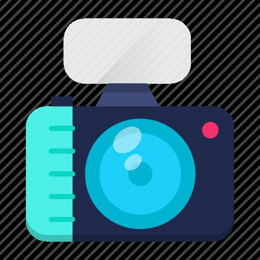 camera, media, news, photography, record icon